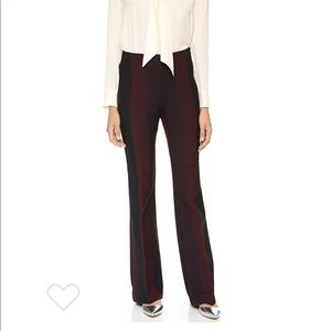 Clover canyon striped pants small